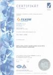 Certifikát jakosti ISO 9001